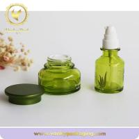 Buy cheap Glass Jars Packaging Cosmetic Oval Glass Jar from wholesalers