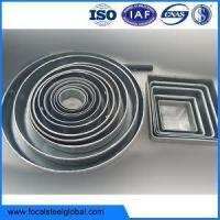 China Galvanized Tube Cap For Circle And Square Pipe wholesale