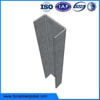 China Hot Dip Galvanised Steel Posts C Channel Sections For Gardon wholesale