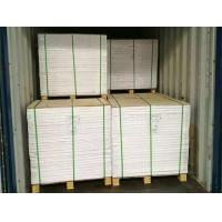 China Good Packing Material A Grade Coated Duplex Board Grey Back wholesale