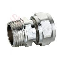 China Brass Compression Male Coupling for PEX-AL-PEX Multilayer Pipe wholesale