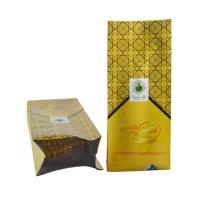Buy cheap Side Gusset Coffee Bag With Degassing Valve / stand up ziplock coffee bag with valve from wholesalers