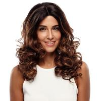 Buy cheap Wig Rebecca Ombre Lace Front Synthetic Hair Wavy Hair Wig Long Body Wave 22 Inch from wholesalers