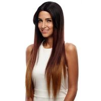 Buy cheap Wig Rebecca Synthetic Hair Straight Lace Front Wig Blonde Hair 31 Inch from wholesalers