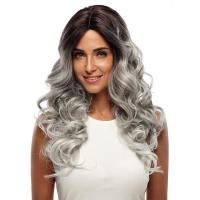Buy cheap Wig Rebecca Synthetic Hair Wave Wig Long Wavy Ombre Lace Wig 24 Inch from wholesalers