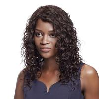 Buy cheap Wig Rebecca Human Hair Middle Length Deep Wave Curly Wavy Wig 19 Inch from wholesalers