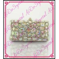 China Aidocrystal Barbie series sexy women party wear evening purse cluth bags wholesale