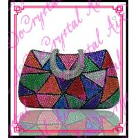 China Aidocrystal new products 2016 online shopping wholesale crystal clutch purses wholesale
