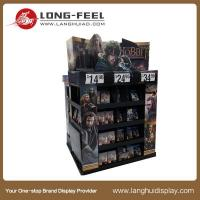 China wholesale paperc cd dvd display stand, paper cd rack, cardboard cd holder on sale