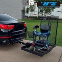 China Hitch Mounted Wheelchair and Scooter Carrier Ramp Folding wholesale