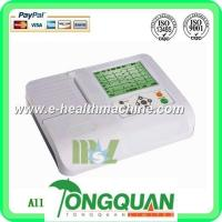 China Three channel cheap ECG machine( MSLEC05D) wholesale