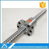 China Ball screw Rolled Anti Backlash SFU 2505 Ball Screw End Support on sale