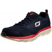 China Skechers Sport Men's Skech Air Oxford Sneakers,navy/red,11 wholesale