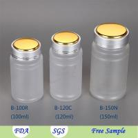 China 120ml Plastic Medical Pill Round Bottle and 4 OZ PET Plastic Medicine Pill Cylinder Container wholesale