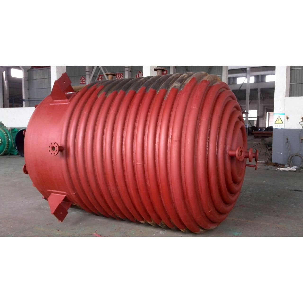Buy cheap Half - pipe coiled carbon steel reactor , smooth surface pharmaceutical reactors from wholesalers