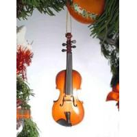 China New & Noteworthy Violin Holiday Ornament wholesale