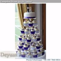 China acrylic cake stand High quality cake tier stand cupcake stand on sale