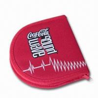 China Promotional Bags ?8cm CD Wallet, Made of Neoprene on sale