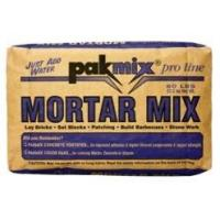 UMIX BAGGED PRODUCTS/PAKMIX PakMix Mortar Mix Manufactures