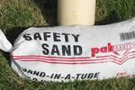 PAKMIX Safety Sand (Sand-In-ATube) uses Manufactures