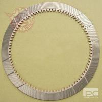 Buy cheap Paper Friction Material Komatsu Bulldozers steering clutch disc part no. 135-15-22712 from wholesalers