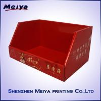 China Store Retailed Snacks Cardboard Counter Display , Custom decorative cardboard boxes Printed on sale