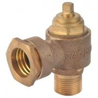 China Brass/Bronze Foot Valves with ss screen wholesale