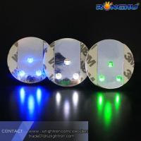 China 2016 New Design Factory Price LED Light Drink Cup coaster Wholesale Led Sticker wholesale