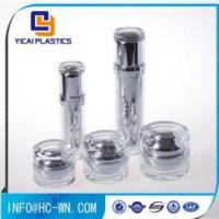 China Ungrouped Wholesale Cosmetics Empty Cream Acrylic Jar And Bottle wholesale