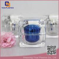 China Ungrouped crystal clear acrylic beauty cream container wholesale