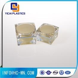 Quality Ungrouped Jars For Packing And Storage Usage Empty Acrylic Cylinder Container for sale