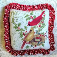 China Cardinals Accent Pillow - Only 1 Available wholesale