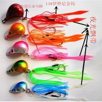 China Rubber Jig Mouse head on sale