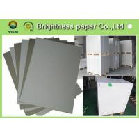 China Smooth Surface Grey Back Duplex Board Thick Cardboard Sheets For Small Boxes wholesale