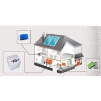 China 2000w Solar Panel Energy System Off Grid With Lithium Battery Storage For Home Use wholesale