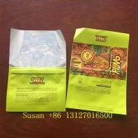 China Custom Hand Rolling Plastic Tobacco Leaf Packaging Pouch Cigar Ziplock Cigarette Wraps Bags on sale