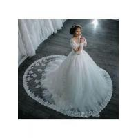 China Ball-Gown Beaded Lace Sheer Long-Sleeves Wedding Dresses BA4150Item Code: LY104 wholesale