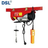 Buy cheap PA Mini Electric Wire Rope Hoist with Limited Stop,Moving Trolley and CE Certificate. from wholesalers