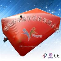 China Cool excellent water trampoline / water jumping bag for water games wholesale