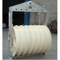 China Stringing Equipment wire rope pulley wheel wholesale