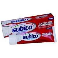 Buy cheap SUBITO ANTI-CAVITIES TOOTHPASTE 100g from wholesalers