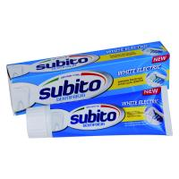 Buy cheap SUBITO WHITE ELECTRIC TOOTHPASTE 100g from wholesalers