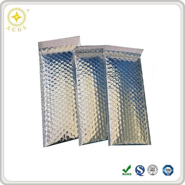 Quality White and Black Metallic Padded Mailing Bubble Lined Envelopes Wholesale for sale