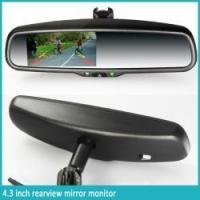 China 4.3 inch Rearview mirror monitor+Camera wholesale
