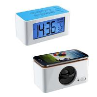 China Radio Alarm Clock with Wireless Iductive Speaker for iPhone Smart Phones on sale