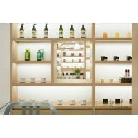 China BEAUTY LIBRARY Boutique Cosmetics Shop Design, Log Style, Natural Style, Shop Design Fresh, Library wholesale