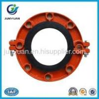 China Ductile Iron Grooved Fittings Grooved Flange Coupling wholesale