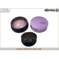 China Charming Pressed Powder Blush , Portable Long Lasting Blush For Oval Face wholesale