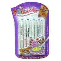 China Edible ink Pens Edible Ink Writing Pens. 10x Colouring Markers. Professional series - FINE LINE wholesale