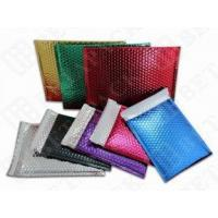 China Custom Printed Metallic Bubble Mailer Shipping Envelopes With Bubble Wrap wholesale
